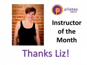 Liz Instructor of the Month