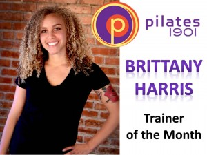BRITT TRAINER OF THE MONTH