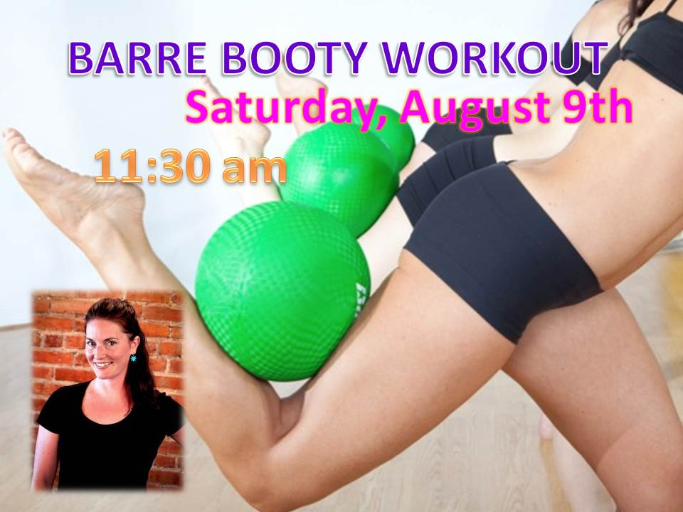 Barre Booty Pop Up Workout